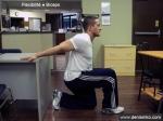 Flexibilité : Biceps : au bureau