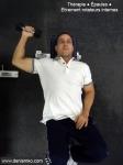 Thérapie - épaules - étirement - rotateurs internes