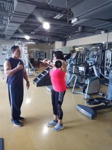 entraineur privé gym